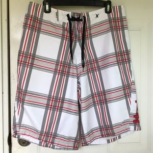 Under Armour plaided short